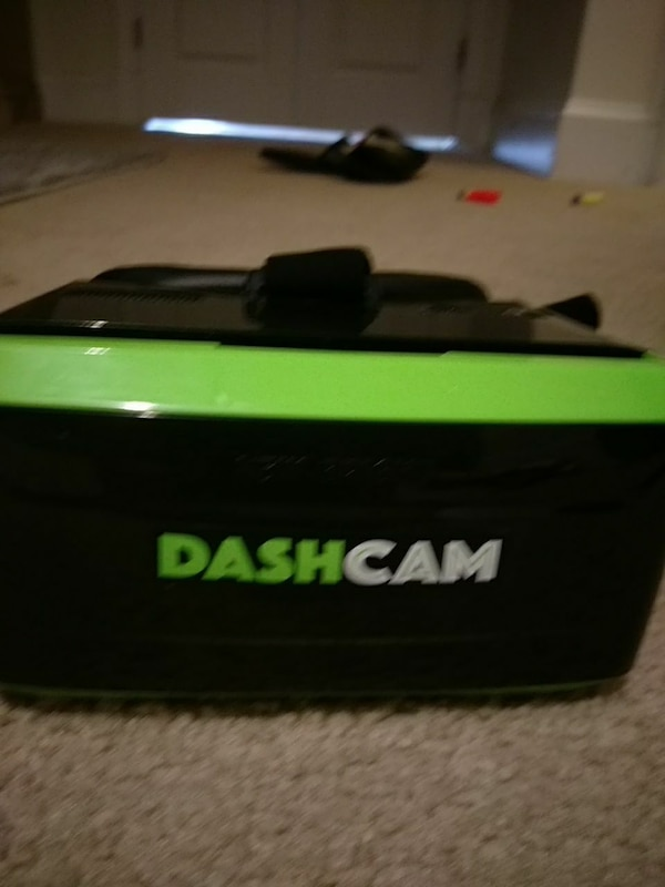 black and green plastic case