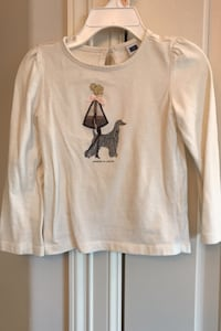 Janie And Jack girls long-sleeved shirt, size 2-3T