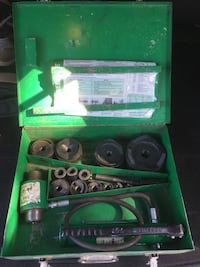 Greenlee hydraulic knock out kit Calgary, T2K 0Y4