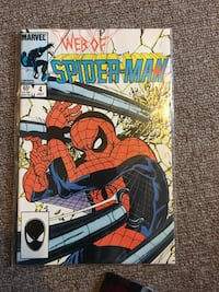 Spider-Man comic book London, N6A 3M8