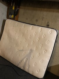 White and brown bed mattress 3123 km
