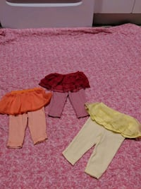 Girl 6m pants with built in tutus  Surrey, V3W 5S2