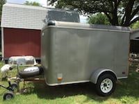 gray and black utility trailer Stafford, 77477