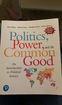 Fifth edition Political Science Textbook Edmonton, T6H 5G1