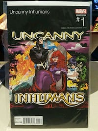 #1 Uncanny Inhumans comic book MARVEL