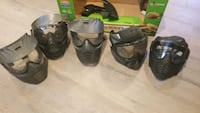 Assorted used paintball/ airsoft masks Middletown, 21769