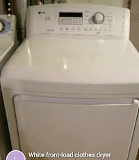 white front-load clothes washer Brookfield, 53005