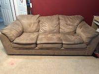 Brown microfiber sofa set Lancaster, 93536