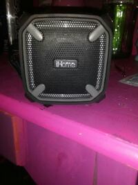 black and gray iHome dock speaker Newberg, 97132