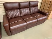 Each leather recliner sofa Or recliner loveseat with console new sale Jacksonville, 32216