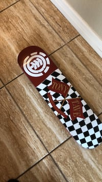 Tony Tabe Element  Skateboard Deck