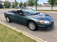 Chrysler Sebring Convertible 2006 ! Low mileage ! Calgary, T2Y 4W5