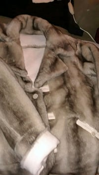 Beautiful Fur and suede coat
