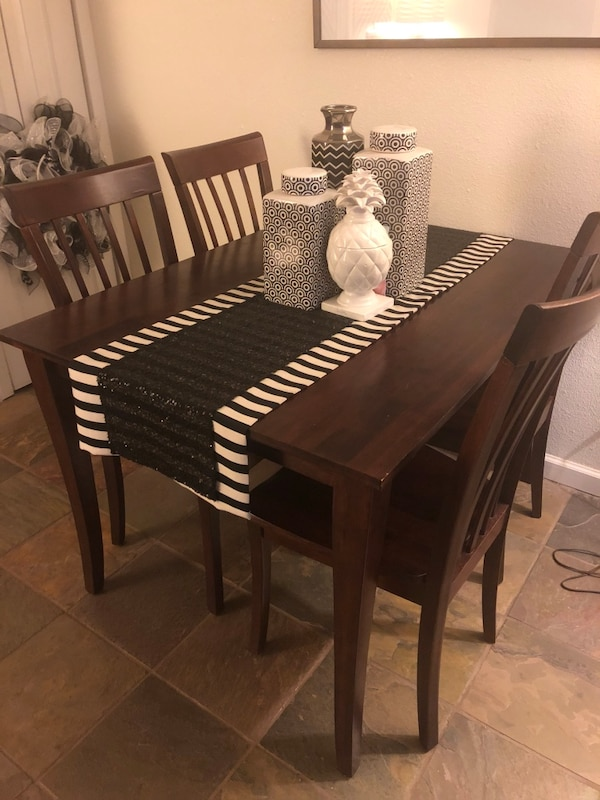 Real Wood Dining Table Chairs