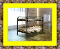Twin bunkbed frame free mattress and delivery Falls Church, 22041
