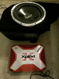 Amp and subwoofer  Virginia Beach, 23454