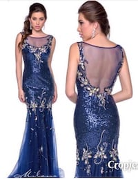 Size 10 Formal Gown $150