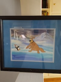 Original chilly and Willie animated cel Los Angeles, 91352
