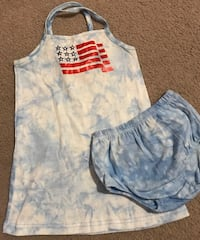 Girls 18 months Target Memorial/July 4th/Labor Day outfit Reading