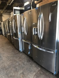 """French Doors Refrigerator 36"""" new with 6 months warranty"""