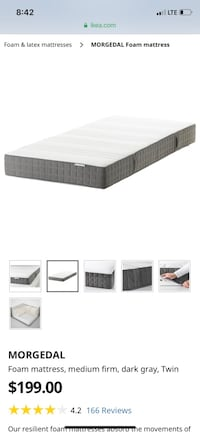 Twin Mattress Vancouver, V6B 5Y1