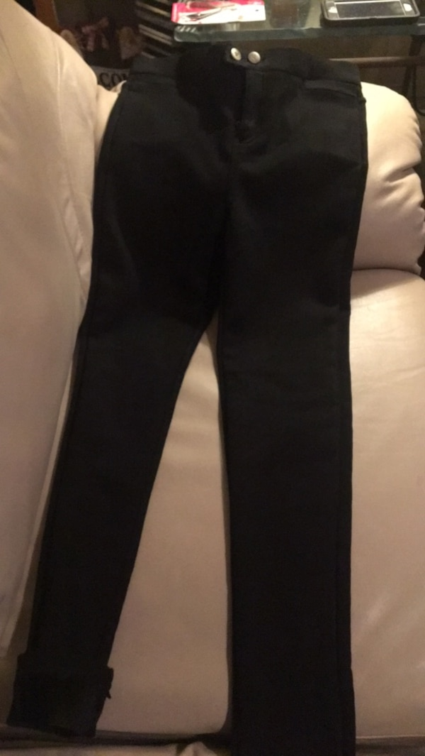 5d7cfcc0d6e Used Women s black spandex pants. Made of special material. Nice ...
