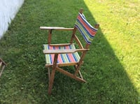 Small old lawn chairs 20.$ Sainte-Sophie, J5J 1C6