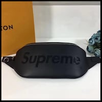 Bandolera Supreme x Louis Vuitton Black  BASAURI