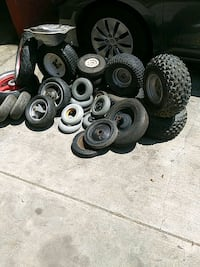 Tires go cart, pocket bike, wheelbarroll Whittier, 90605