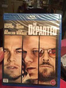 The Departed blu-ray-plate