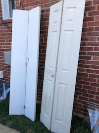 "Closets Bifold doors. 24""x80"" inches never use for only 60$ for both.! Hyattsville, 20782"
