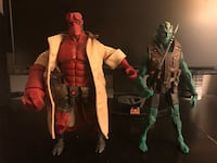 2006 & 2007 Mezco Hellboy and Abe Sapien Comic-Con exclusives Chino Hills, 91709