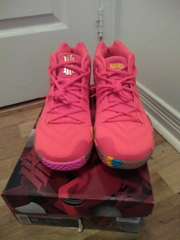 0a5430a818f Used Nike Kyrie 4 Lucky Charms sz 10 for sale in Toronto - letgo