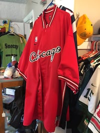 Chicago Bulls Stitched 3XL Warmup Suit Washougal, 98671