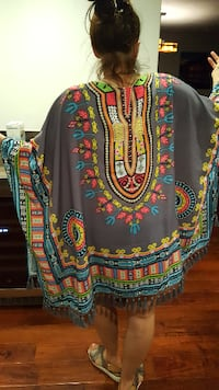 Swimsuit cover up with brilliant colors beautiful piece San Marcos