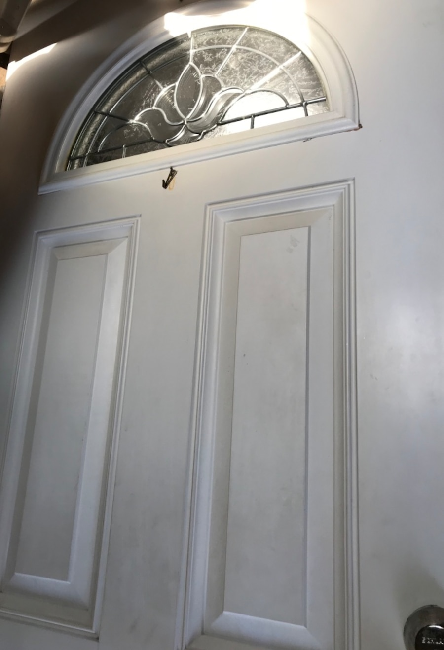 used white entry door in new york