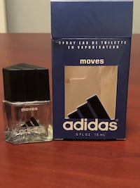 Adidas Move Eau de Toilette spray 15ml bottle. Lightly used.
