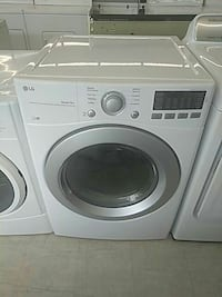 white front-load washer Mount Clemens, 48043