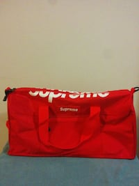 Red Supreme Duffle Bag London, N6K 3N1