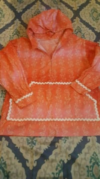 orange and white floral textile Anchorage, 99503