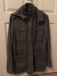 Size small Grey button-up jacket( rarely used)