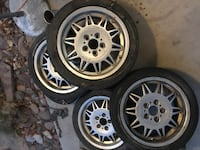 BMW motor sport alloys