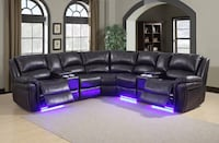Brand new Power LED Recliner Sectional  Brampton, L6Z 1N9