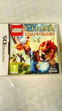 Nintendo DS Lego Chima Lavals Journey case