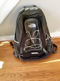 Green north face backpack - jester - great condition