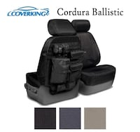 CoverKing Ballistic Cordura Front Seat Covers (Black) Ford F150 Toronto