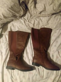 brown fall boots  Balzac, T0M 0E0