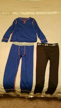 Boys Blue Fruit of the Loom thermals size 6-7 Lancaster, 75134