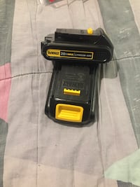 Dewalt 20V batteries.