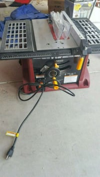 "10"" 15 AMP industrial Tablesaw Henderson, 89012"